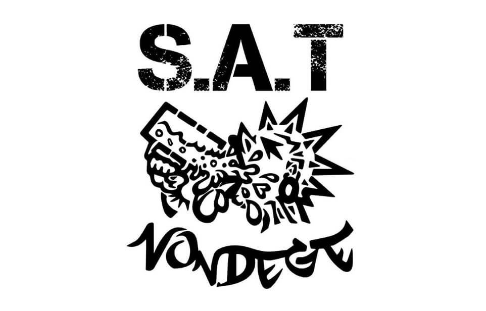 S.A.T nondegeロゴ